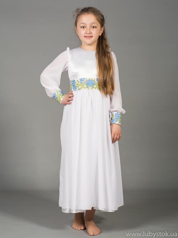 Вишита сукня для дівчинки ЖПВ 43-1