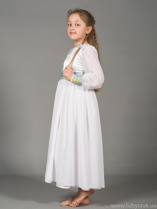 f55c6f21f2aebe Вишите плаття для дівчинки ЖПВ 43-1 - купити