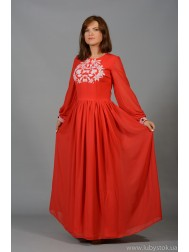Вишита сукня хрестиком ЖПВ 47-1