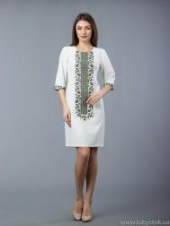Вишита сукня хрестиком ЖПВ 48-1