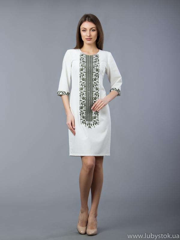 Вишита сукня D-048-01