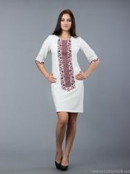 Вишите плаття D-048-03