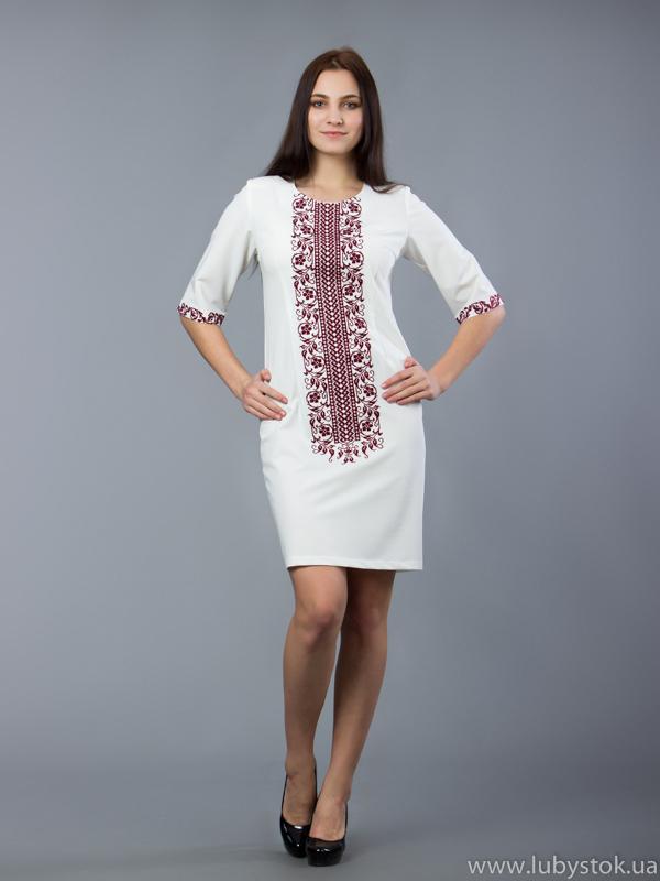 Вишита сукня D-048-03