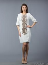 Вишите плаття D-048-04