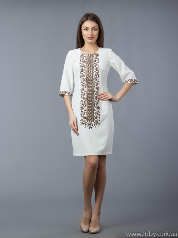 Вишита сукня D-048-04