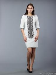 Вишита сукня хрестиком ЖПВ 48-6