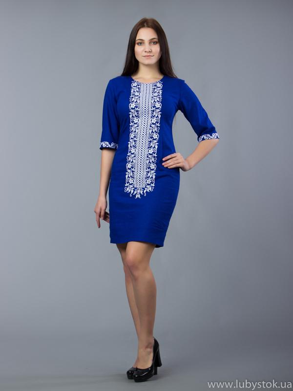 Вишита сукня D-048-07