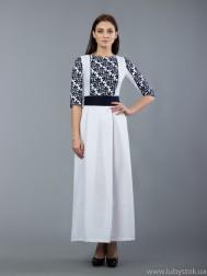 Вишита сукня хрестиком ЖПВ 49-1