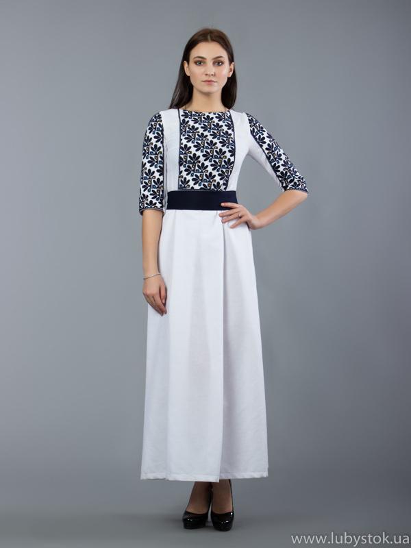 Вишита сукня D-049-01