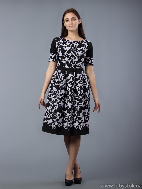 Вишита сукня хрестиком ЖПВ 50-1