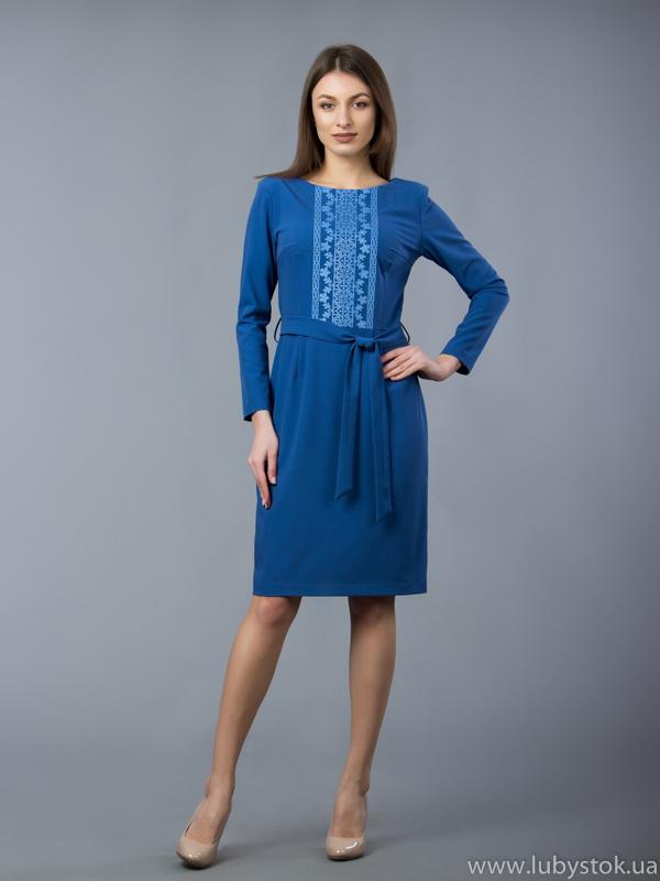 Вишита сукня хрестиком ЖПВ 55-1