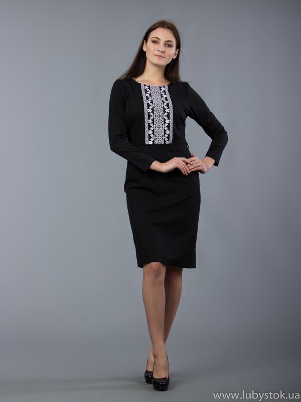 Вишита сукня D-055-02