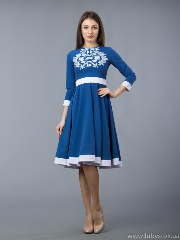 Вишита сукня D-058-01
