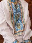 Вишита сорочка хрестиком ЧСВ 45-1Д