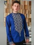 Вишита сорочка хрестиком ЧСВ 46-1