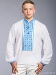 Вишита сорочка хрестиком ЧСВ 60-2