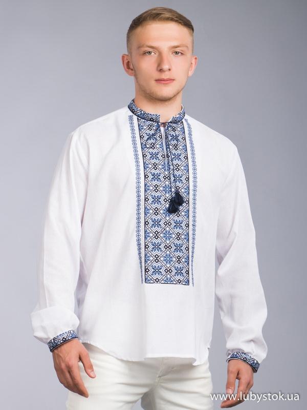 Вишита сорочка хрестиком ЧСВ 60-3