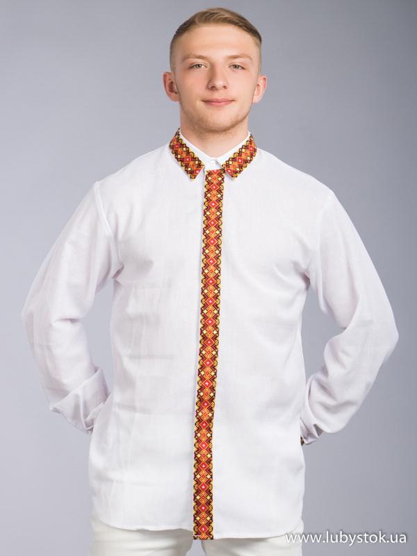 Вишита сорочка хрестиком ЧСВ 64-1