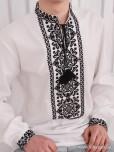 Вишита сорочка хрестиком ЧСВ 109-1