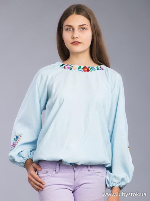 Жіноча вишиванка B-038-01