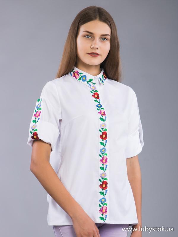 Вишиванка гладдю жіноча ЖБВ 42-1