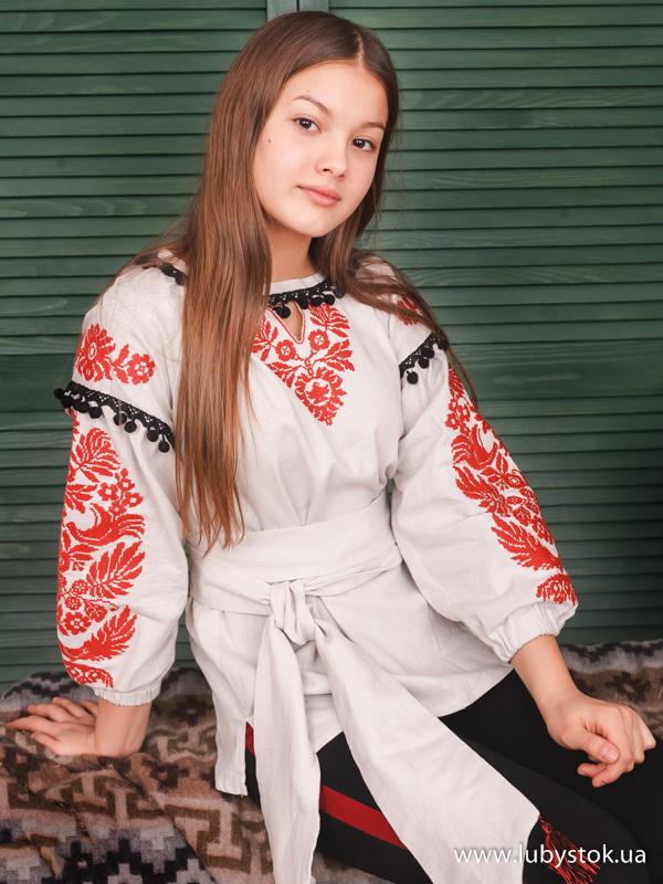 Вишиванка хрестиком жіноча ЖБВ 47-1 - купити d9c824e87fa9c