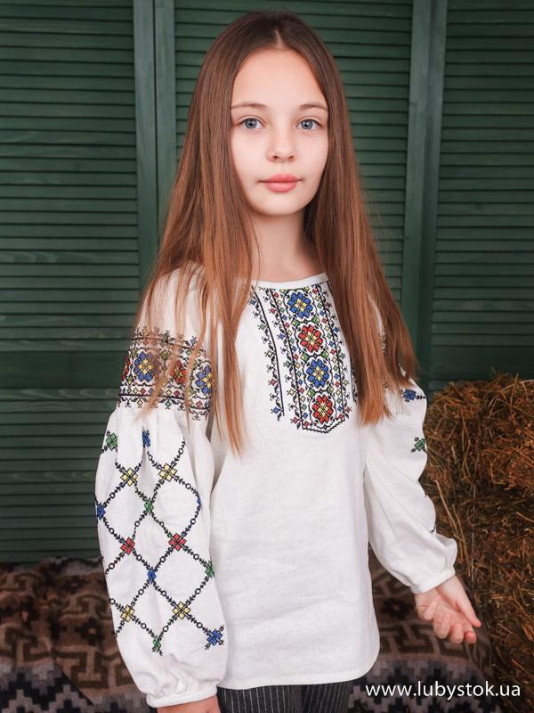 Вишиванка для дівчинки ЖБВ 55-1Д
