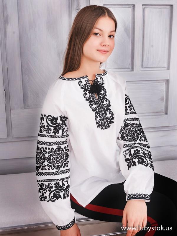 Вишиванка хрестиком жіноча ЖБВ 64-1 - купити 3318124358f7b