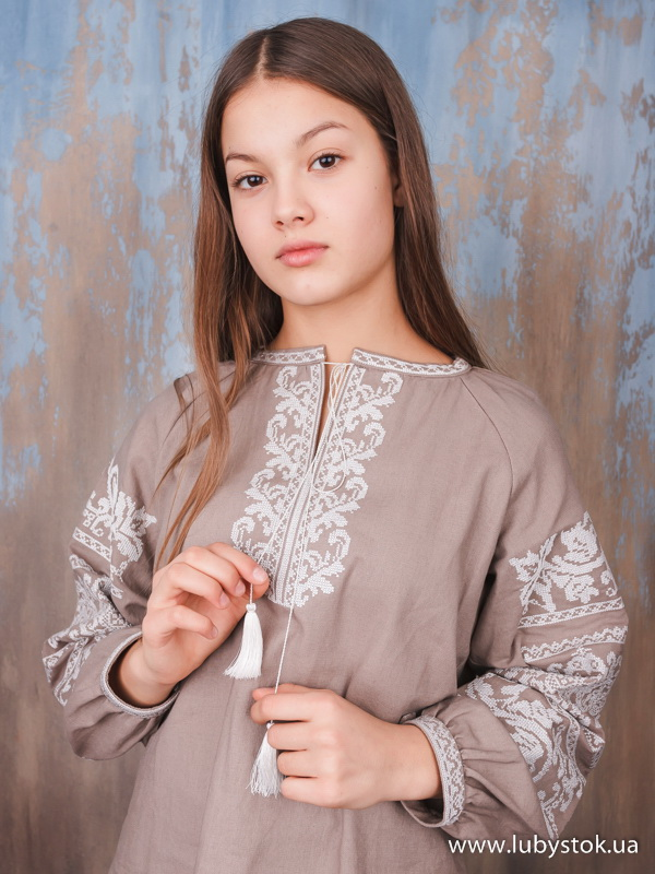 Вишиванка хрестиком жіноча ЖБВ 64-2 - купити 05bff7680c51c