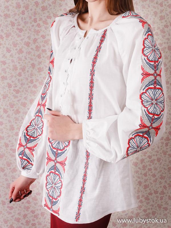 Жіноча вишиванка B-076-01
