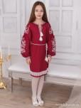 Вишита сукня для дівчинки ЖПВ 69-2