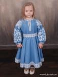 Вишита сукня для дівчинки ЖПВ 121-1