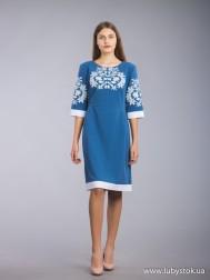 Вишите плаття D-063-01