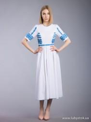 Вишита сукня хрестиком ЖПВ 64-1
