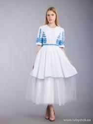 Вишита сукня хрестиком ЖПВ 65-1