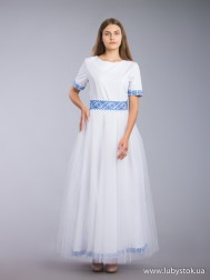 Вишита сукня хрестиком ЖПВ 66-1