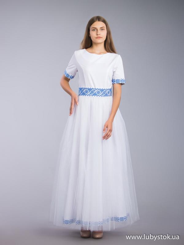 Вишита сукня D-066-01