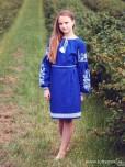 Вишита сукня для дівчинки ЖПВ 69-1