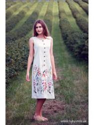 Вишита сукня гладдю ЖПВ 78-1