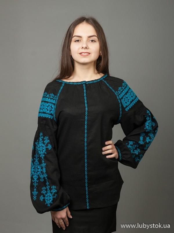 Жіноча вишиванка B-024-08