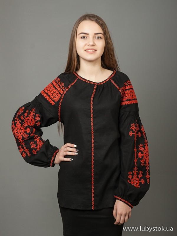 Жіноча вишиванка B-024-09
