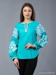 Вишиванка-блуза B-028-06