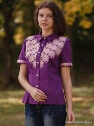 Вишиванка-блуза B-048-01