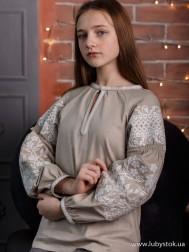 Вишиванка-блуза B-057-07