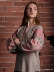 Вишиванка-блуза B-057-08