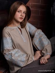 Вишиванка-блуза B-057-11