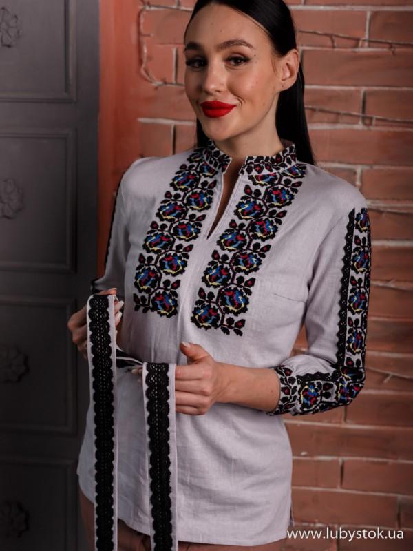 Жіноча вишиванка B-065-01