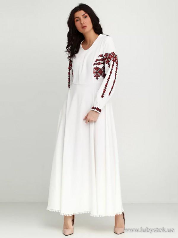 Вишита сукня D-003-01