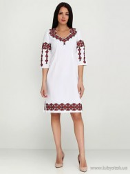 Вишите плаття D-005-01