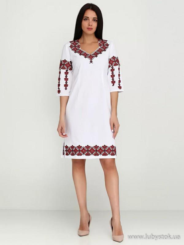 Вишита сукня D-005-01